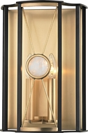 Hudson Valley 2200-AGB Cresson Aged Brass Wall Lighting Sconce