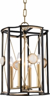 Hudson Valley 2213-AGB Cresson Aged Brass 13.5  Foyer Lighting