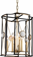 Hudson Valley 2218-AGB Cresson Aged Brass 18.5  Foyer Lighting Fixture