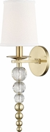 Hudson Valley 2300-AGB Persis Modern Aged Brass Wall Lamp
