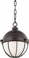 Hudson Valley 2309-OB Sumner Contemporary Old Bronze Mini Pendant Lighting Fixture