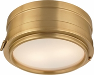 Hudson Valley 2311-AGB Rye Aged Brass 11  Ceiling Lighting