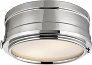 Hudson Valley 2311-PN Rye Polished Nickel 11  Ceiling Light Fixture