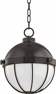 Hudson Valley 2312-OB Sumner Modern Old Bronze Mini Pendant Hanging Light