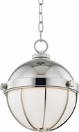 Hudson Valley 2312-PN Sumner Contemporary Polished Nickel Mini Hanging Light Fixture