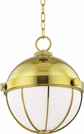 Hudson Valley 2315-MB Sumner Modern Modern Brass Drop Lighting