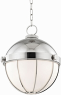 Hudson Valley 2315-PN Sumner Modern Polished Nickel Ceiling Light Pendant