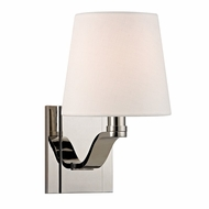 Hudson Valley 2461-PN Clayton Polished Nickel Finish 9 Tall Wall Sconce Lighting