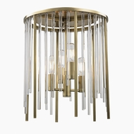 Hudson Valley 2510-AGB Lewis Aged Brass Ceiling Lighting