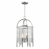 Hudson Valley 2512-PN Lewis Polished Nickel Foyer Light Fixture