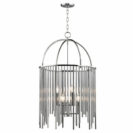 Hudson Valley 2520-PN Lewis Polished Nickel Entryway Light Fixture
