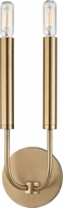 Hudson Valley 2600-AGB Gideon Contemporary Aged Brass Lighting Wall Sconce