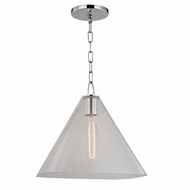 Hudson Valley 2714-PN Sanderson Polished Nickel Ceiling Pendant Light