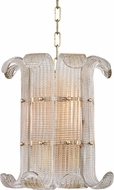 Hudson Valley 2904-AGB Brasher Modern Aged Brass Lighting Pendant
