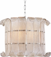 Hudson Valley 2908-PN Brasher Contemporary Polished Nickel Hanging Light