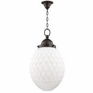 Hudson Valley 3014-OB Columbia Old Bronze Hanging Light