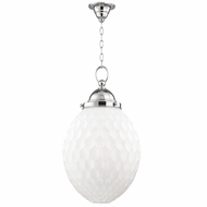 Hudson Valley 3014-PN Columbia Polished Nickel Pendant Light Fixture