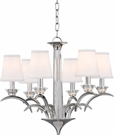 Hudson Valley 3196-PN Marcellus Polished Nickel Ceiling Chandelier