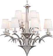 Hudson Valley 3199-PN Marcellus Polished Nickel Chandelier Light