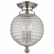 Hudson Valley 3200-PN Coolidge Polished Nickel Ceiling Light Fixture