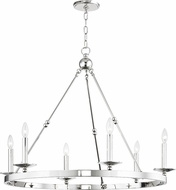 Hudson Valley 3206-PN Allendale Modern Polished Nickel 36  Chandelier Lighting