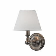 Hudson Valley 3221-HN Sidney Historic Nickel Wall Sconce Lighting