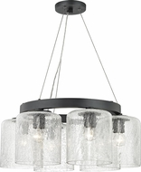 Hudson Valley 3224-OB Charles Modern Old Bronze Mini Ceiling Chandelier