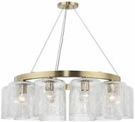 Hudson Valley 3234-AGB Charles Modern Aged Brass Chandelier Light
