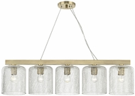 Hudson Valley 3240-AGB Charles Contemporary Aged Brass Island Lighting