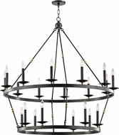 Hudson Valley 3247-AOB Allendale Modern Aged Old Bronze Chandelier Light