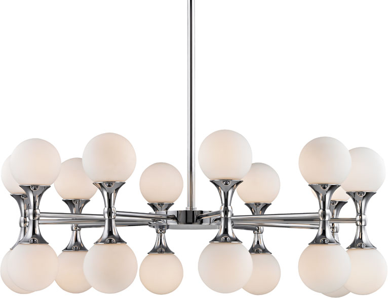 Hudson valley 3320 pc astoria modern polished chrome led lighting hudson valley 3320 pc astoria modern polished chrome led lighting chandelier loading zoom aloadofball Image collections