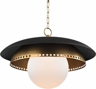 Hudson Valley 3325-AGB Herikimer Aged Brass Drop Lighting