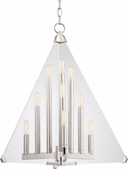 Hudson Valley 3339-PN Triad Modern Polished Nickel 24  Foyer Light Fixture
