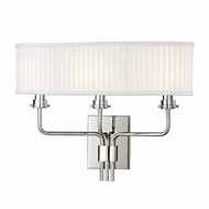 Hudson Valley 3353-PN Gorham Polished Nickel Finish 17.75 Wide Wall Light Fixture