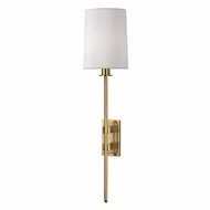 Hudson Valley 3411-AGB Fredonia Aged Brass Wall Lighting Sconce