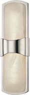 Hudson Valley 3415-PN Valencia Modern Polished Nickel LED Wall Sconce Light