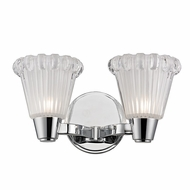 Hudson Valley 3442-PC Varick Polished Chrome Finish 6.5  Tall Xenon 2-Light Vanity Light