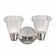 Hudson Valley 3442-SN Varick Satin Nickel Finish 11.75  Wide Xenon 2-Light Bath Light Fixture