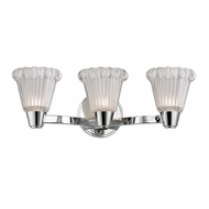 Hudson Valley 3443-PC Varick Polished Chrome Finish 6.5  Tall Xenon 3-Light Bath Lighting Fixture