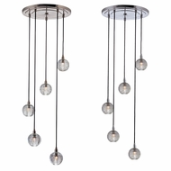 Hudson Valley 3515 Naples Xenon Multi Pendant Light - 15  Wide