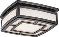 Hudson Valley 3710-OB Elmore Modern Old Bronze LED Ceiling Lighting Fixture