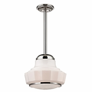 Hudson Valley 3809-PN Odessa Polished Nickel Finish 8.75  Wide Mini Drop Ceiling Light Fixture