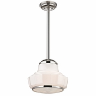 Hudson Valley 3814-PN Odessa Polished Nickel Finish 13.5  Wide Lighting Pendant
