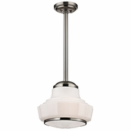 Hudson Valley 3814-SN Odessa Satin Nickel Finish 70.5  Tall Pendant Lamp