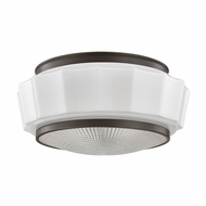 Hudson Valley 3814F-OB Odessa Old Bronze Flush Mount Lighting