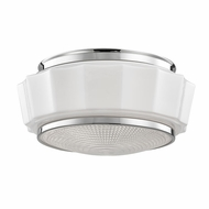 Hudson Valley 3814F-PN Odessa Polished Nickel Overhead Lighting