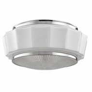 Hudson Valley 3816F-PN Odessa Polished Nickel Flush Mount Ceiling Light Fixture