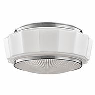 Hudson Valley 3816F-SN Odessa Satin Nickel Home Ceiling Lighting