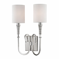 Hudson Valley 4092-PN Kensington Polished Nickel Wall Lighting Sconce
