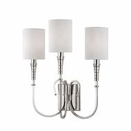Hudson Valley 4093-PN Kensington Polished Nickel Wall Light Sconce